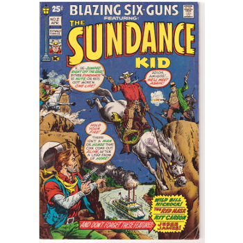 Blazing Six-Guns #2