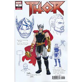 Thor #1 Dauterman Design Variant