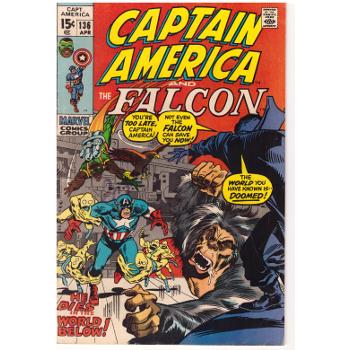 Captain America #136