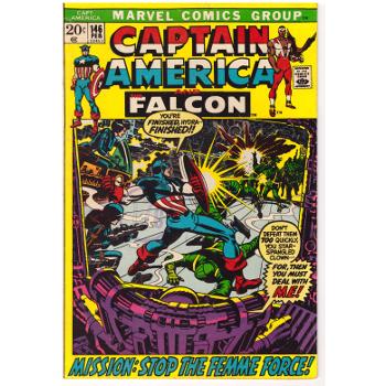 Captain America #146