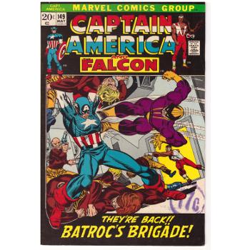 Captain America #149