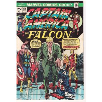 Captain America #176