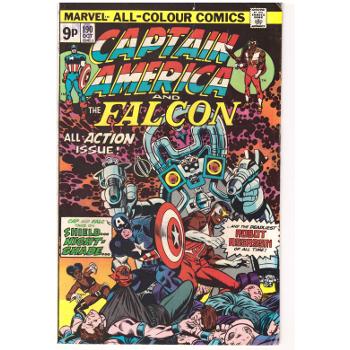 Captain America #190