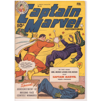 Captain Marvel Advs #43