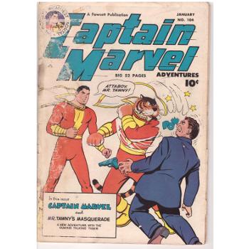 Captain Marvel Advs #104