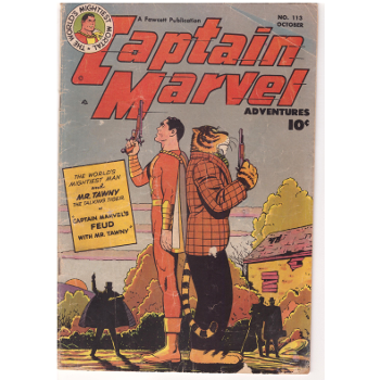 Captain Marvel Advs #113