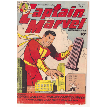 Captain Marvel Advs #134