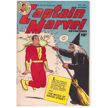 Captain Marvel Advs #136