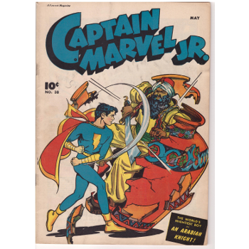 Captain Marvel JR #38