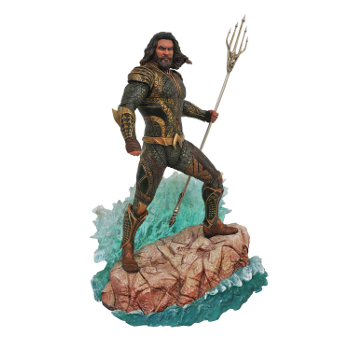DC Gallery JLA Movie Aquaman PVC Figure