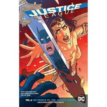 Justice League Vol. 6 : People vs Justice League TP (Rebirth)
