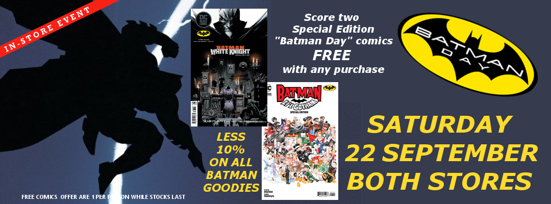 Batman Day – Saturday 22 September
