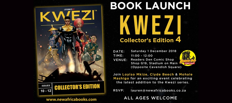 Kwezi Collectors edition 4 Cape Town Launch