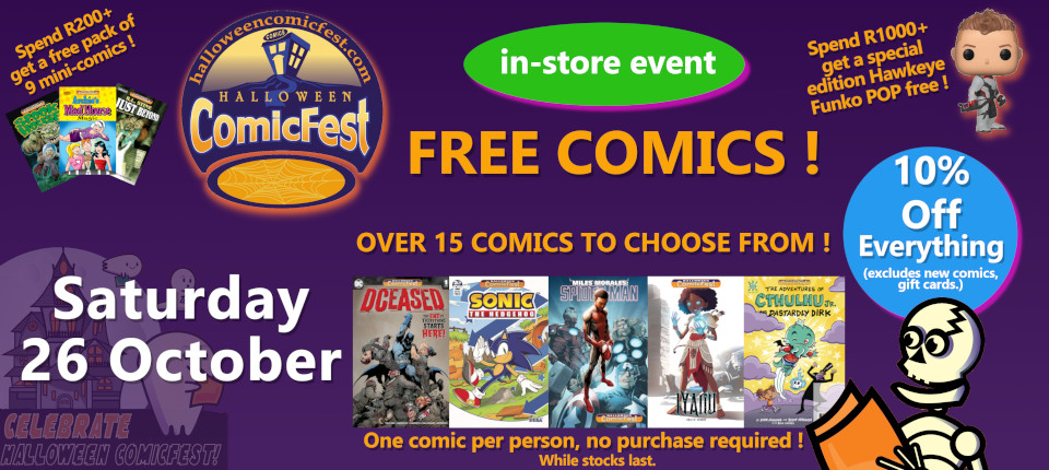 Store event : Halloween Comic Fest 2019