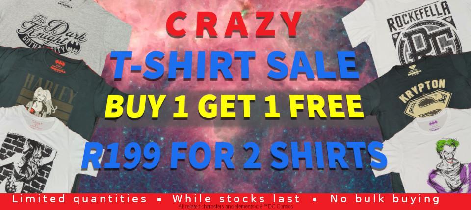 Crazy T-shirt Sale!